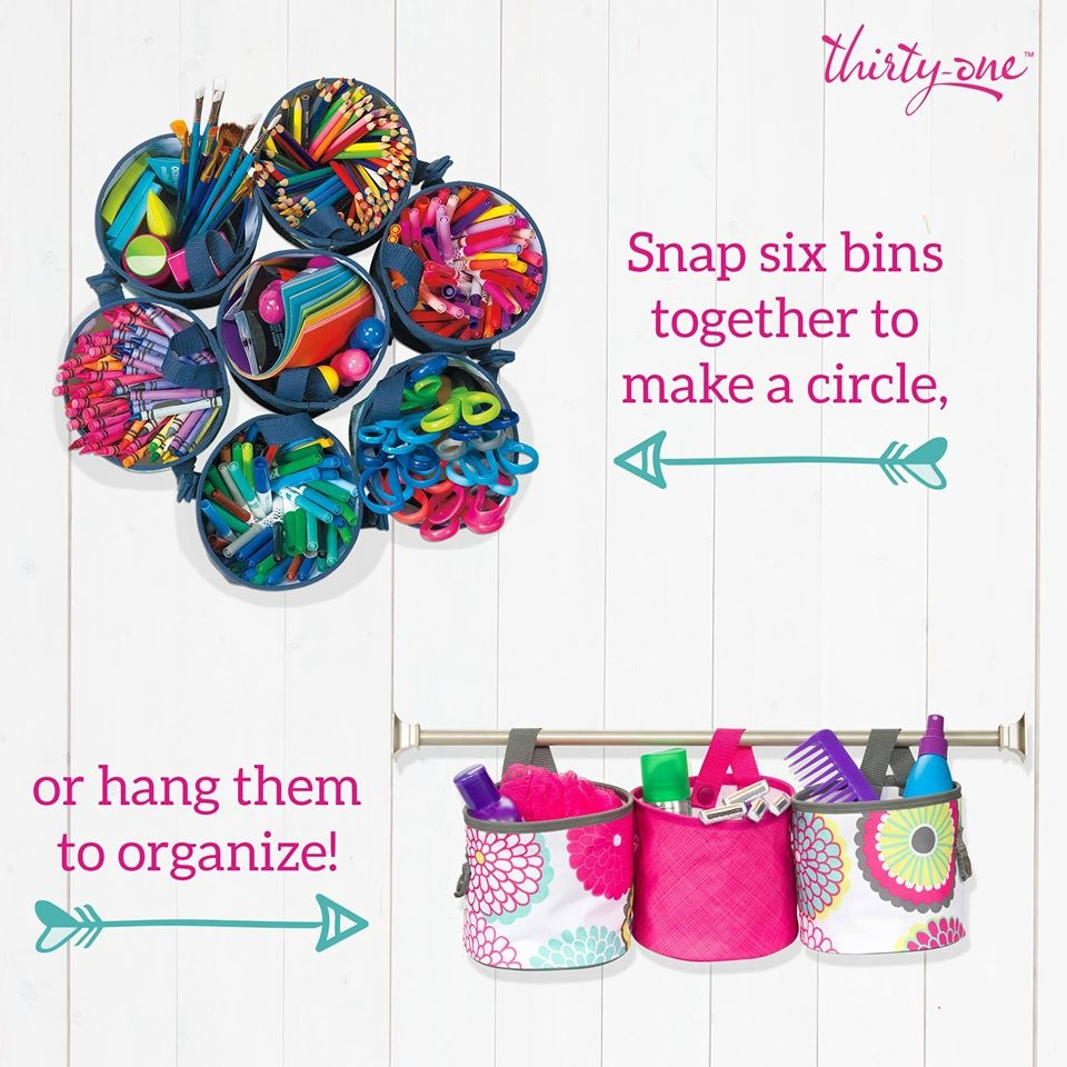 Oh snap bin ideas - Oh Snap Bins These Round Bins Hold A Large Roll Of Toilet Tissue Toys Art Supplies Snacks And So Much More Just Look At All Of The Ways You Can Use