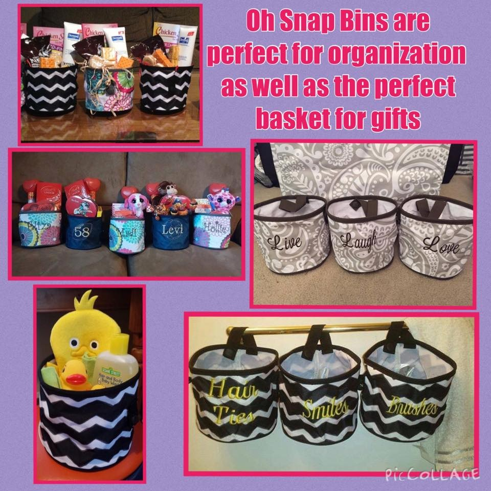 Oh snap bin ideas - Oh Snap Pockets What These Amazing Pockets Can Hang From A Towel Bar Curtain Rod Or Hooks And Hold So Many Things Check Out These Ways To Use The
